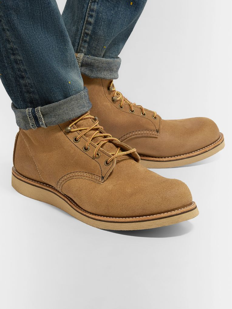 Red Wing Shoes 2953 Rover Roughout Leather Boots