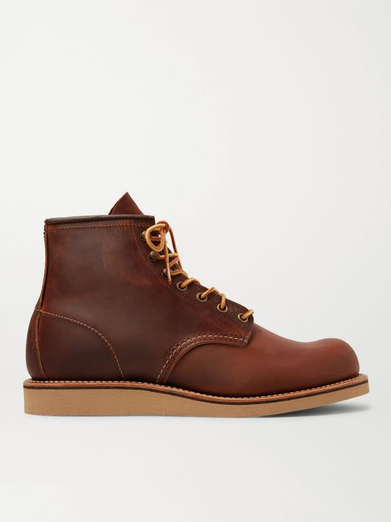 Red Wing Shoes 2950 Rover Burnished Leather Boots