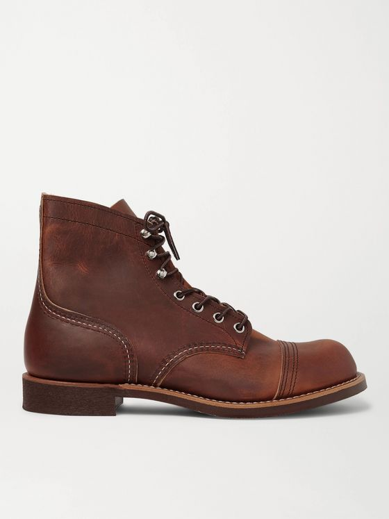 Red Wing Shoes 8085 Iron Ranger Burnished-Leather Boots
