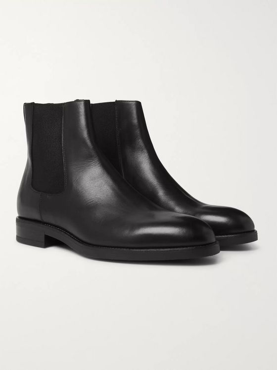 Paul Smith Canon Leather Chelsea Boots