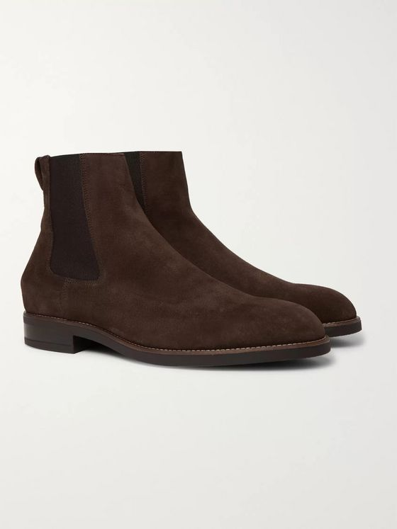 PAUL SMITH Canon Suede Chelsea Boots