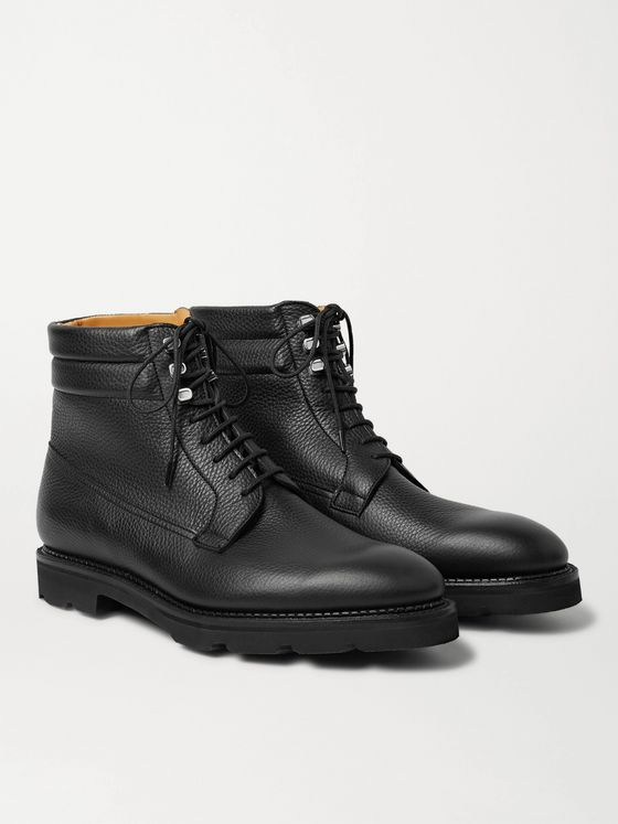 JOHN LOBB Alder Full-Grain Leather Boots