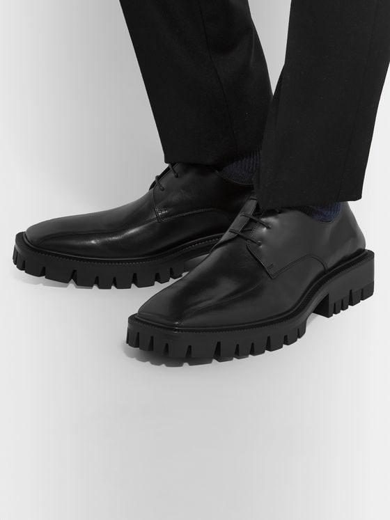 Balenciaga Outdoor Rim Leather Derby Shoes