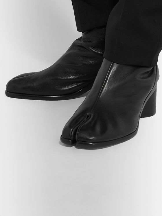 Maison Margiela Tabi Split-Toe Leather Boots