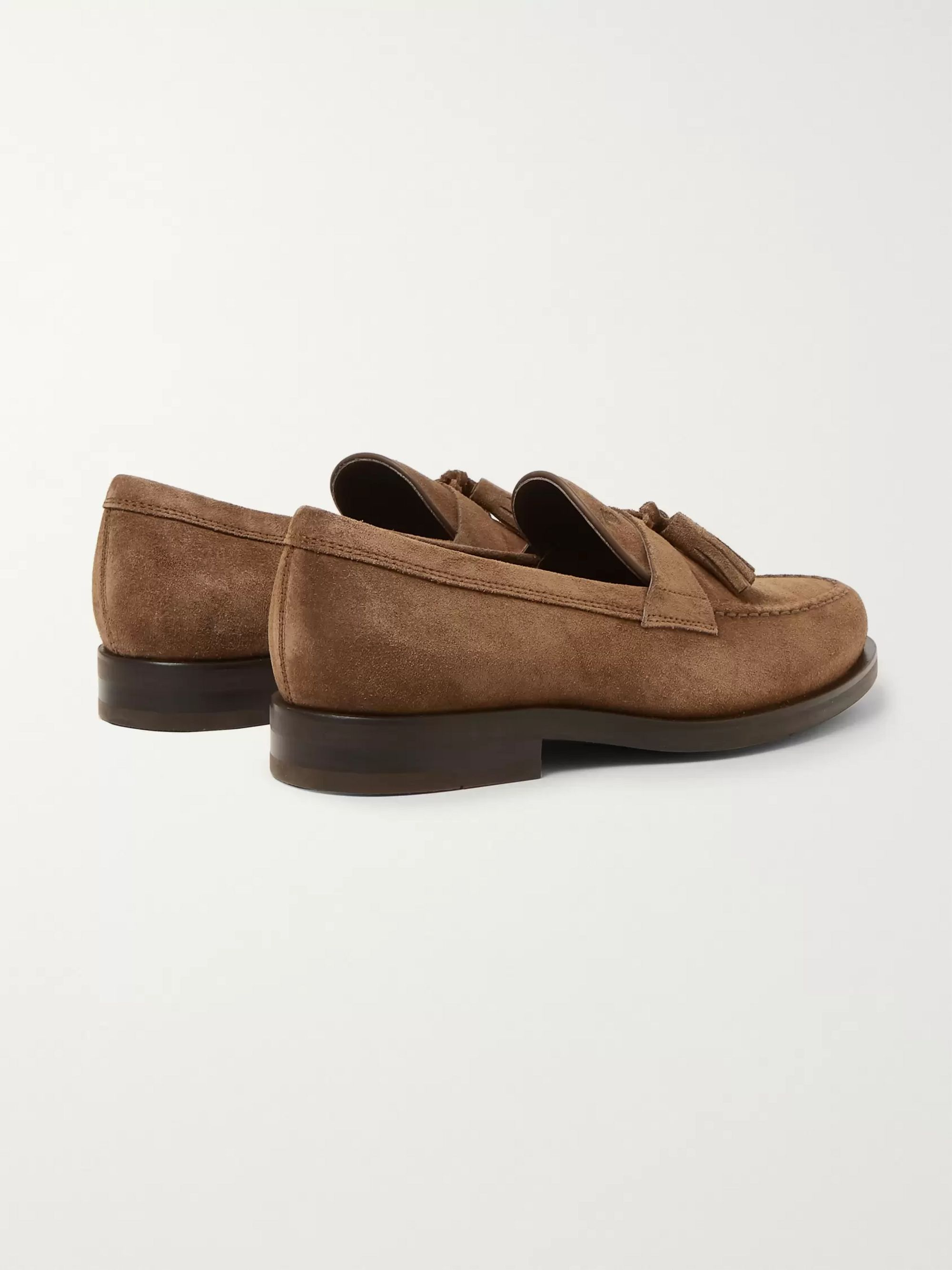 Tod's Suede Tasselled Loafers