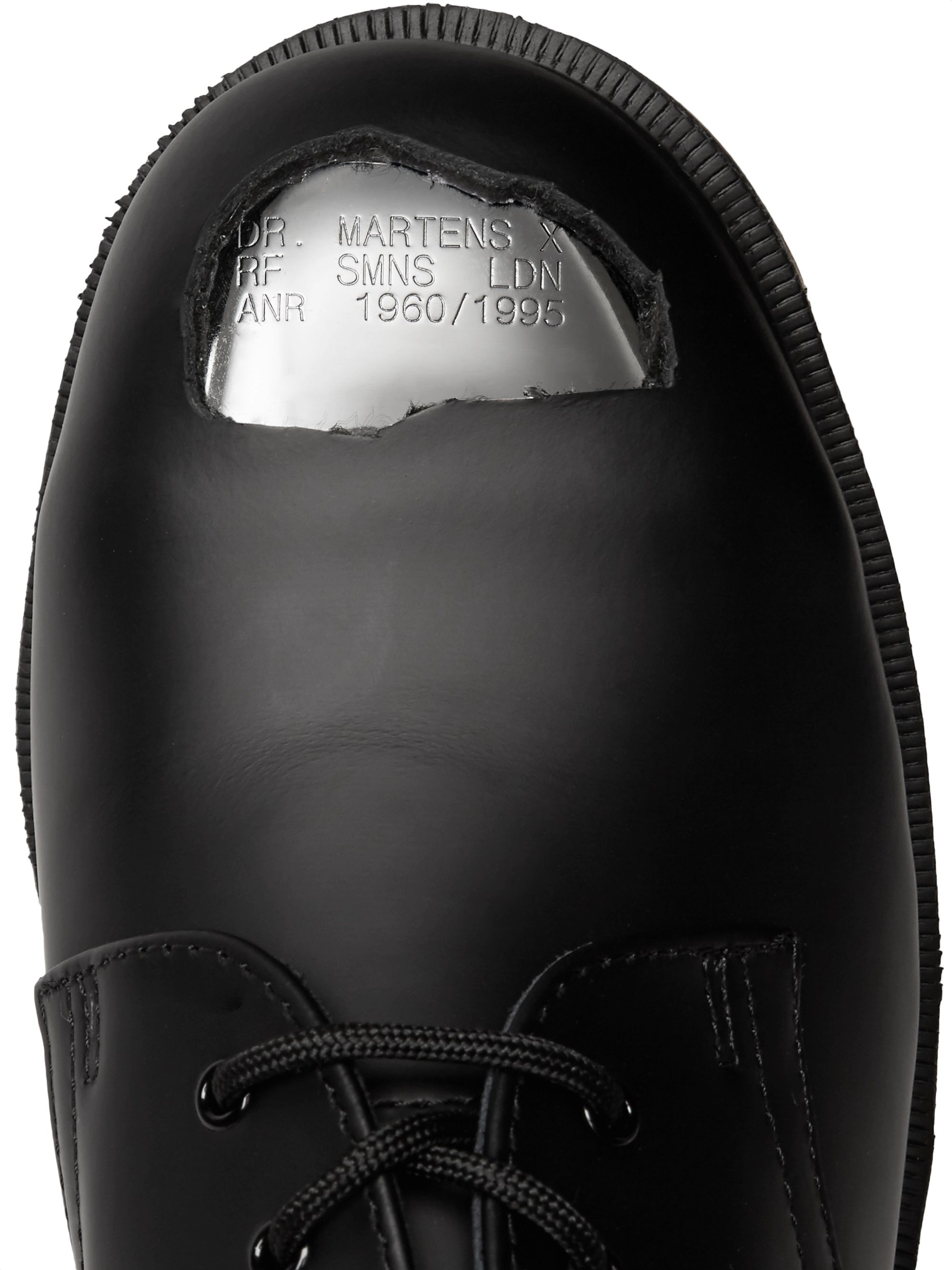 Raf Simons + Dr. Martens Leather Derby Shoes