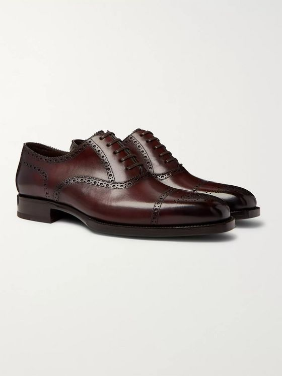 TOM FORD Wessex Leather Brogues
