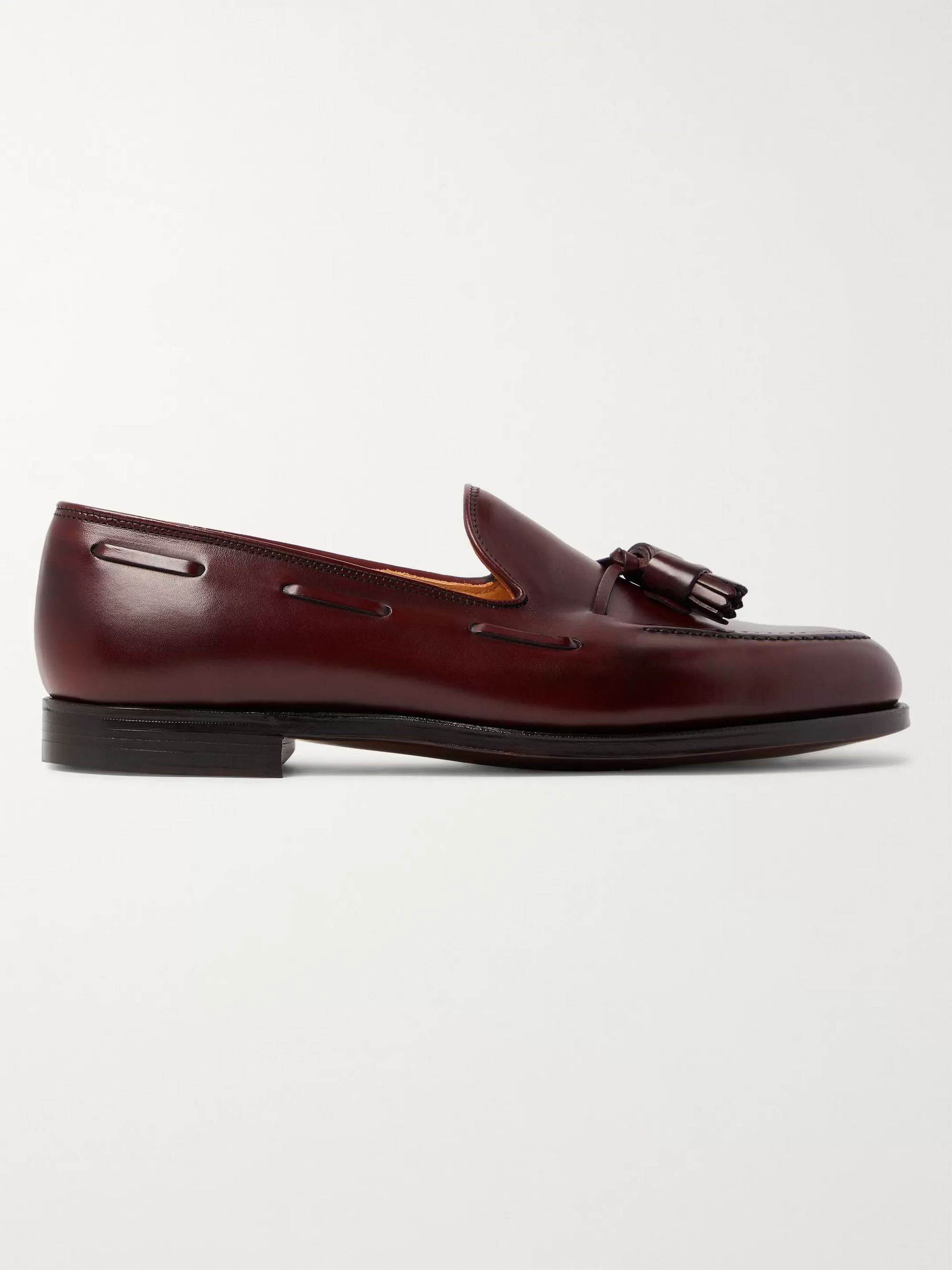 George Cleverley Gabriel Suede Tasselled Loafers