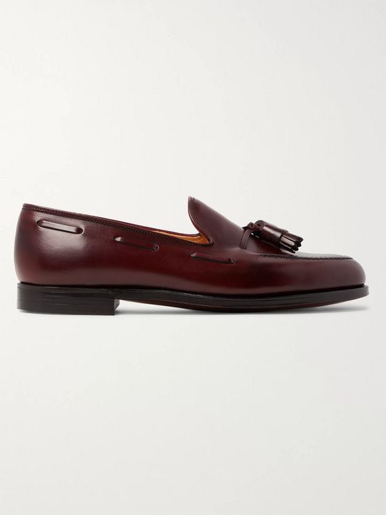 George Cleverley Gabriel Leather Tasselled Loafers