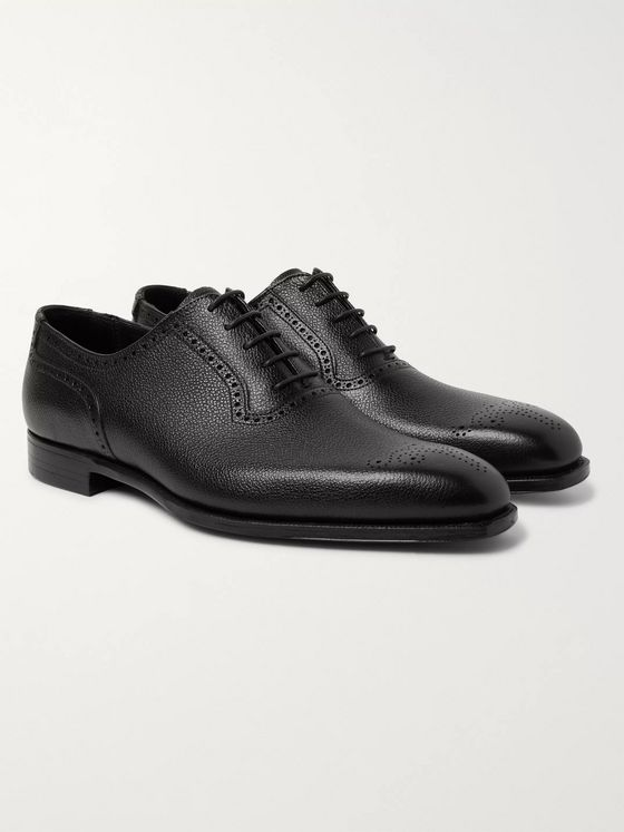 George Cleverley Anthony Leather Oxford Brogues