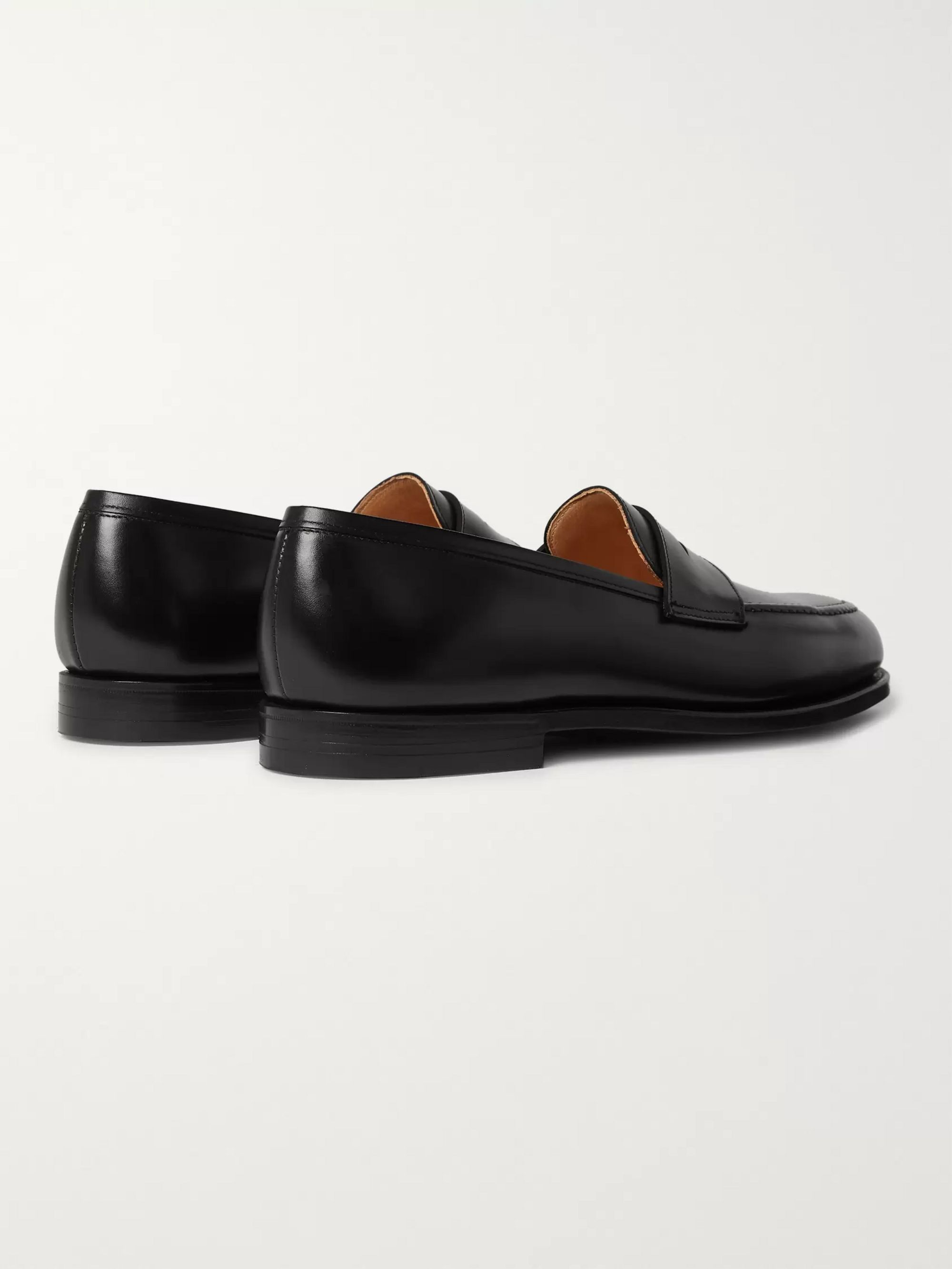 George Cleverley Bradley 2 Leather Penny Loafers
