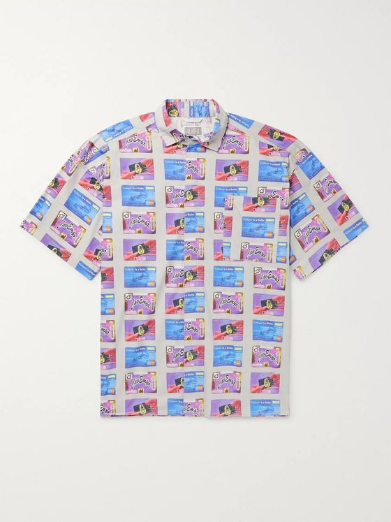 Cav Empt Printed Cotton Shirt