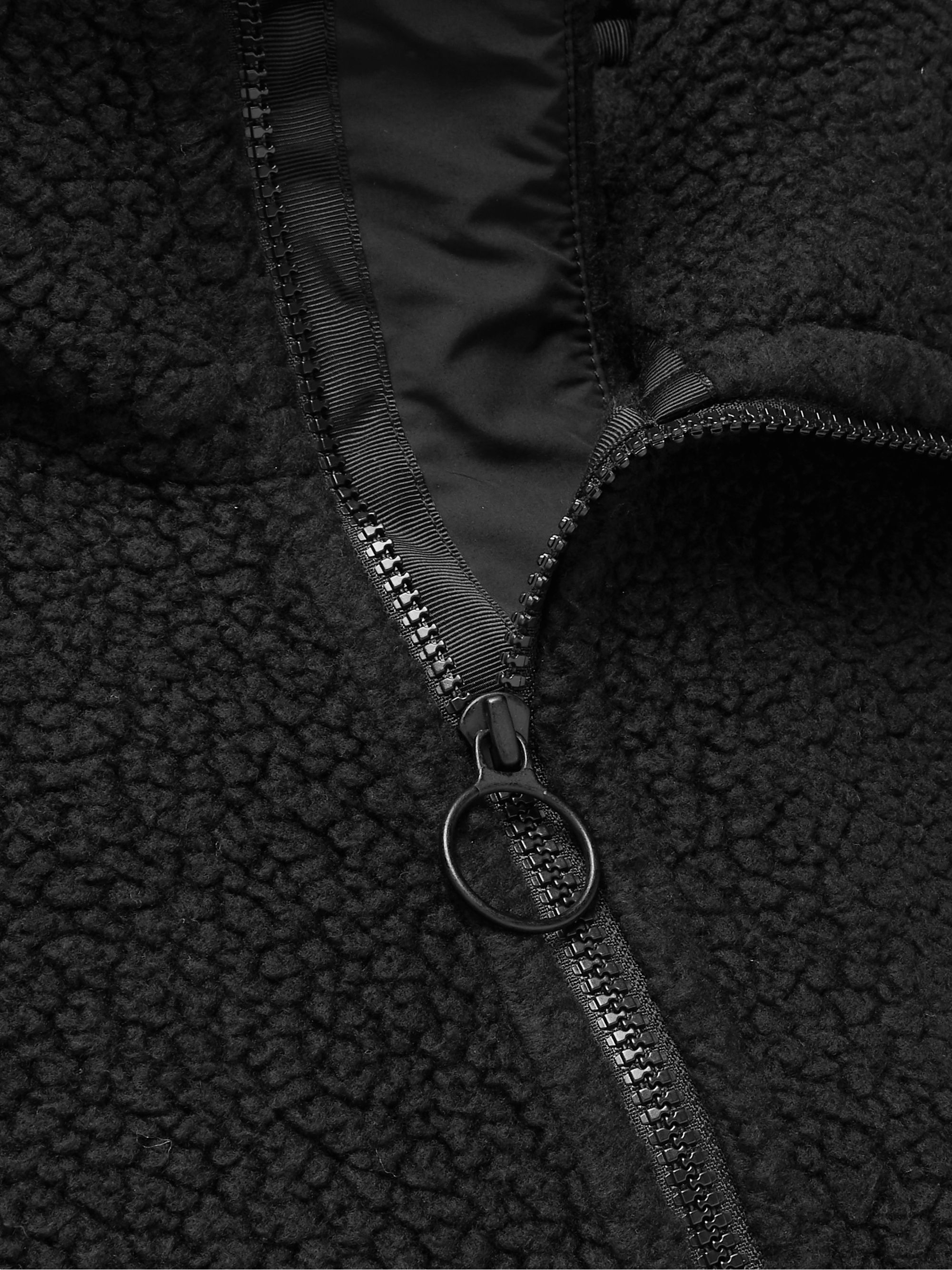 nanamica POLARTEC Fleece Zip-Up Jacket