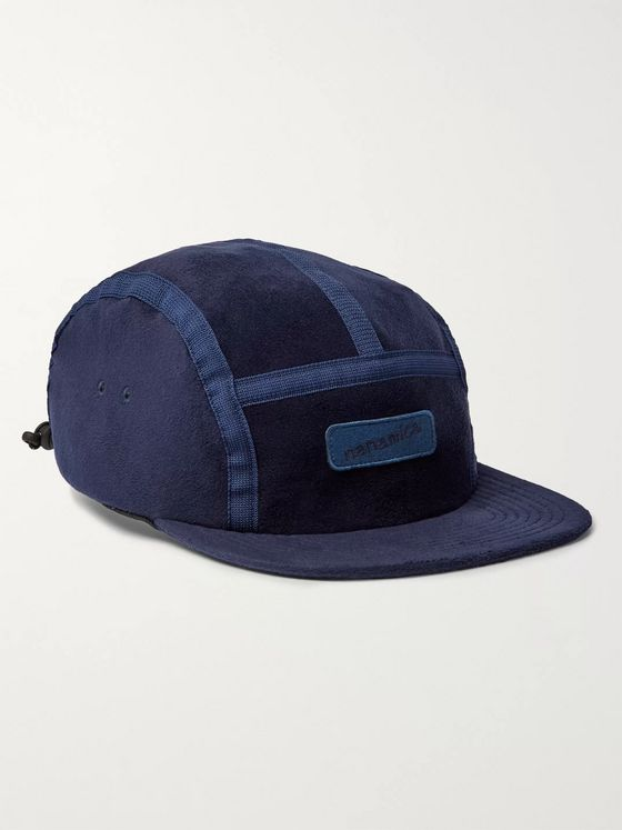 nanamica Logo-Appliquéd Fleece Baseball Cap
