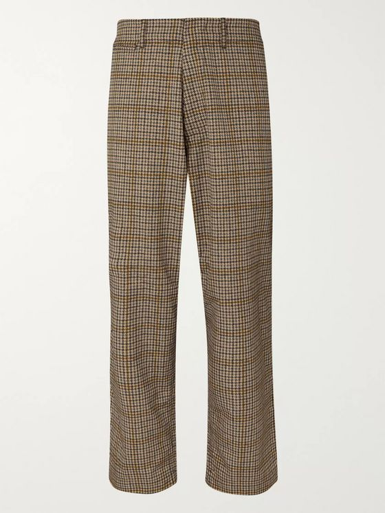 nanamica Houndstooth ALPHADRY Suit Trousers