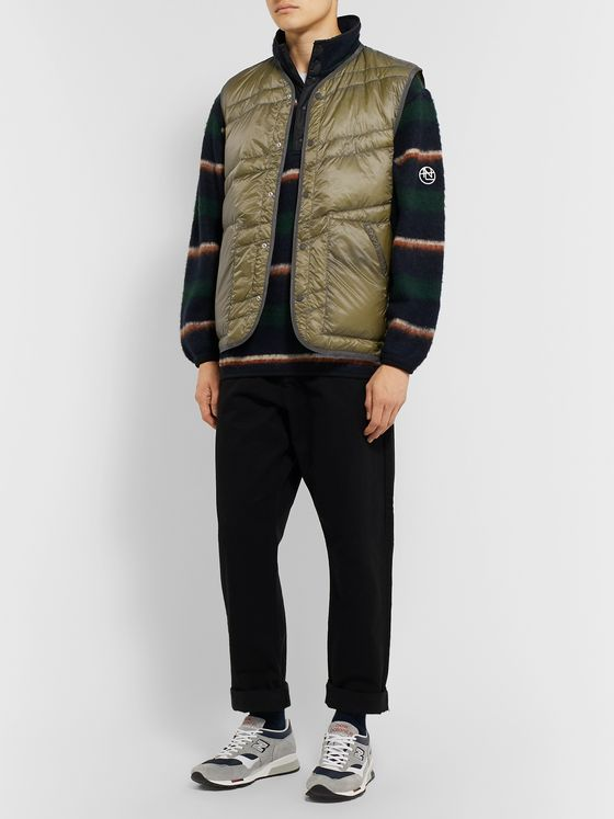 nanamica Slim-Fit Quilted Nylon-Ripstop Down Gilet