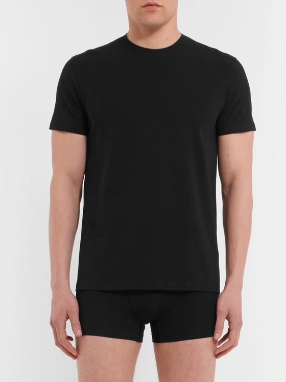 Acne Studios Edvin Stretch-Cotton Jersey T-Shirt