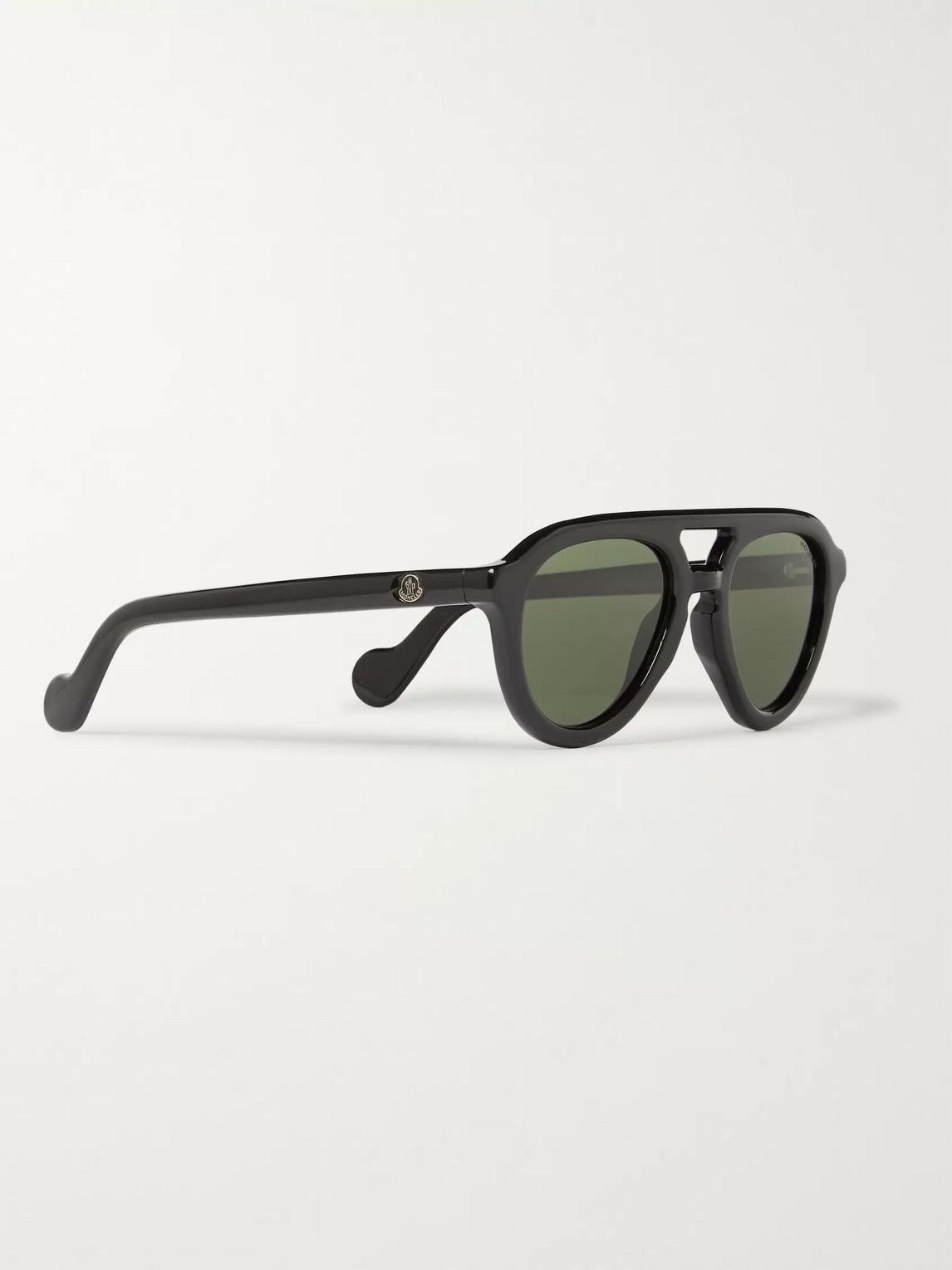 Moncler Sunglasses AVIATOR-STYLE ACETATE POLARISED SUNGLASSES
