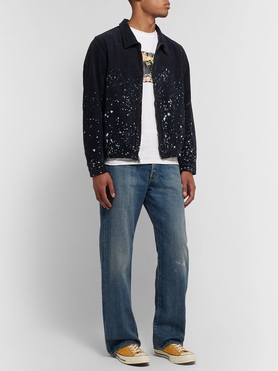 Saturdays NYC Harrison Bleached Cotton-Corduroy Jacket