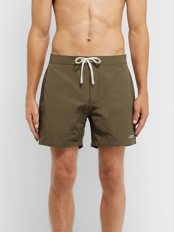 Saturdays NYC Colin Mid-Length Swim Shorts