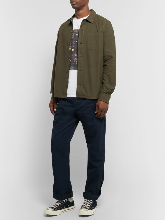 Saturdays NYC Alessandro Cotton-Flannel Shirt