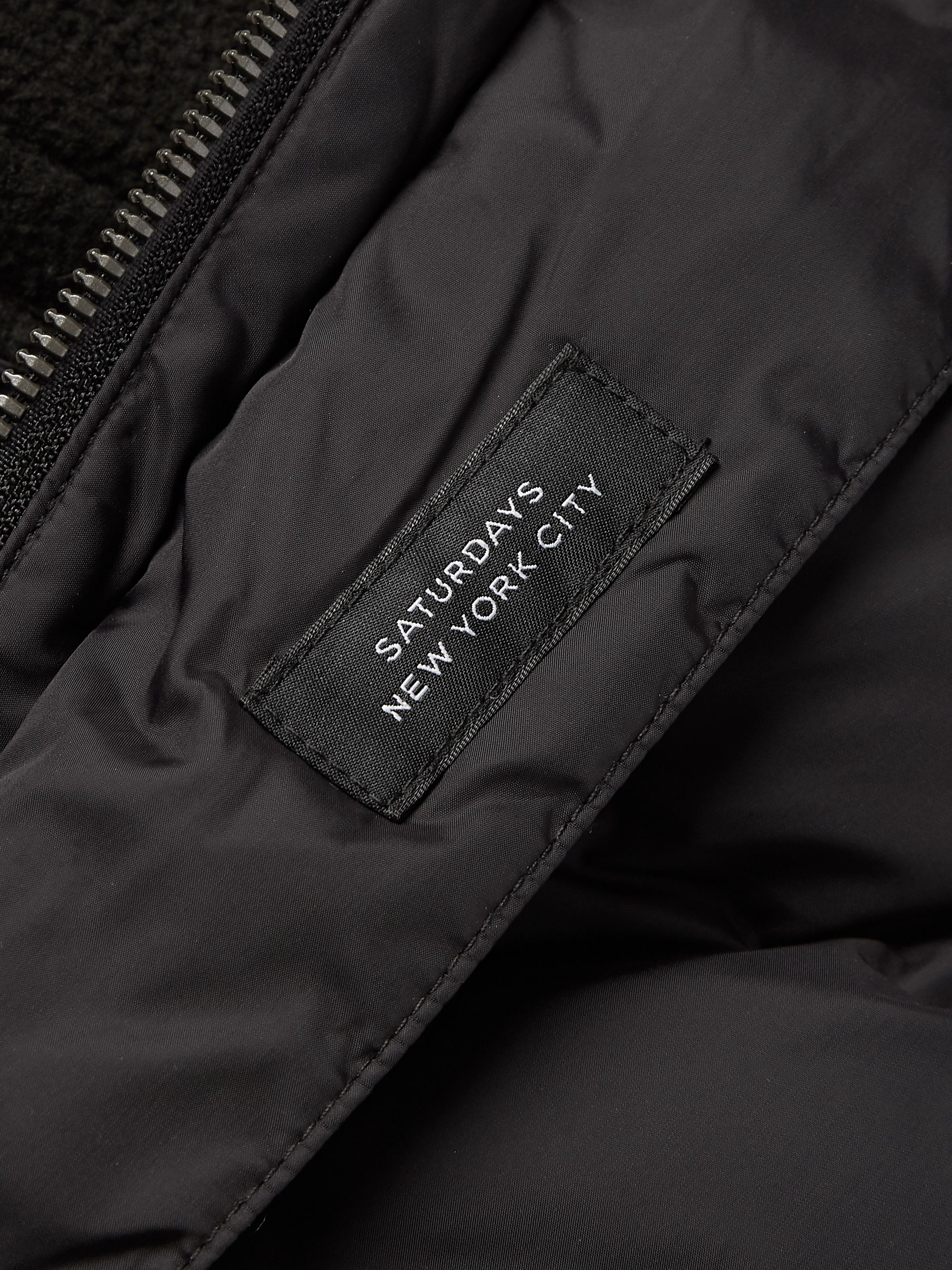 Saturdays NYC Silas Quilted Nylon Jacket