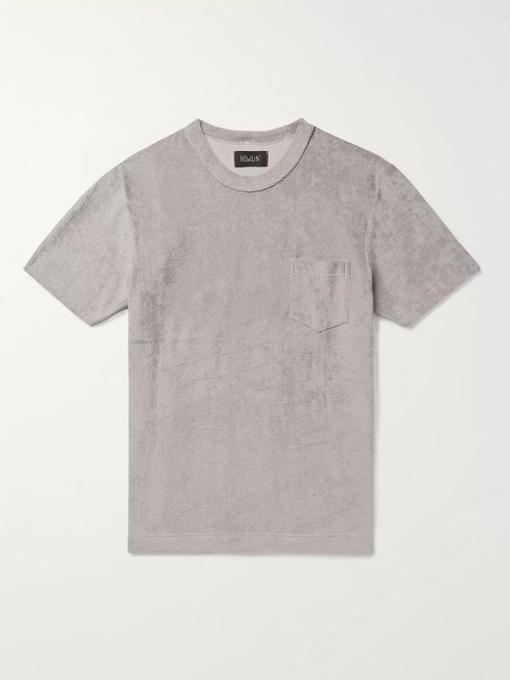 Howlin' Fons Cotton-Blend Terry T-Shirt