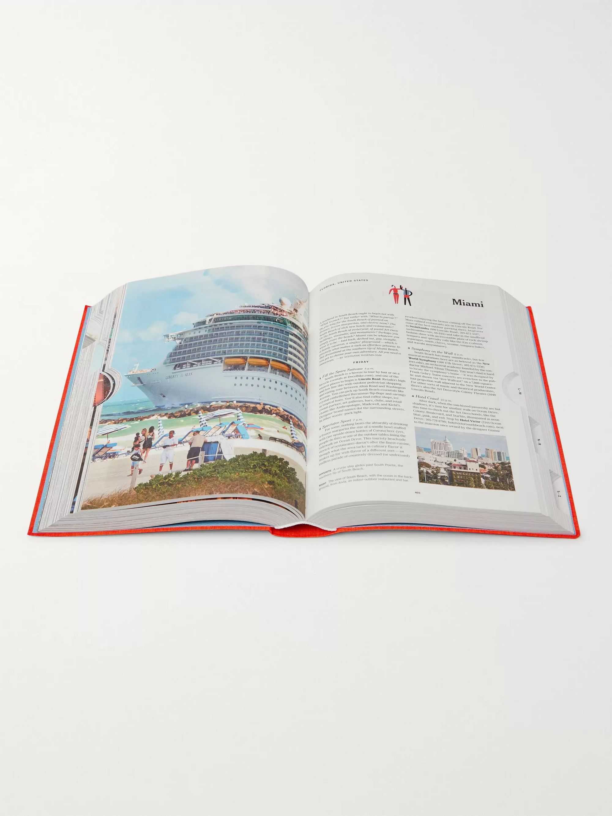 Taschen The New York Times, 36 Hours: World, 150 Cities from Abu Dhabi to Zurich Flexicloth Book