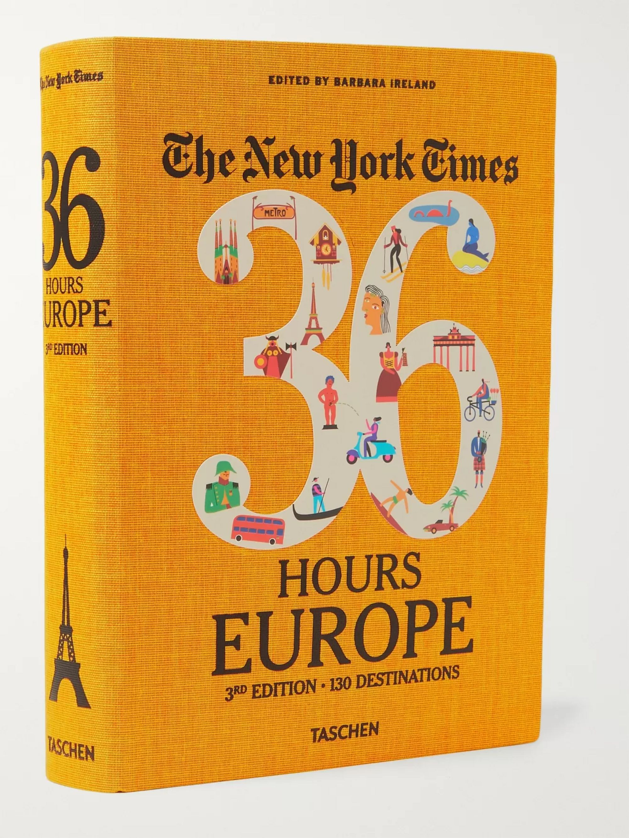 Taschen The New York Times, 36 Hours: Europe, 3rd Edition Flexicloth Book