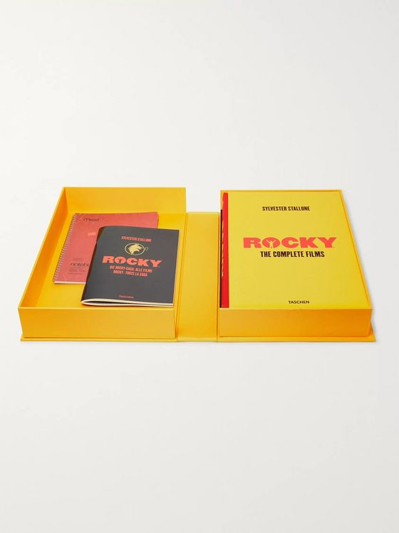 Taschen Rocky: The Complete Films Signed Collectors' Edition Hardcover Book Box Set
