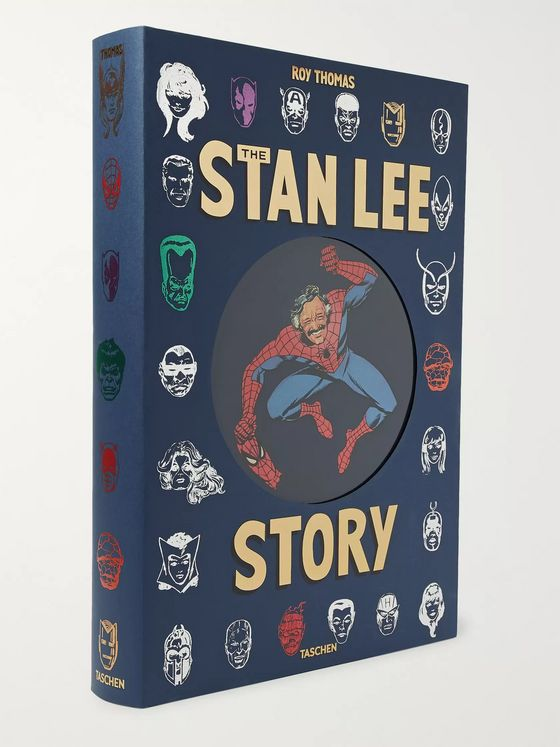 TASCHEN The Stan Lee Story Hardcover Book