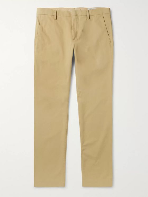 NN07 Theo Tapered Cotton-Blend Chinos