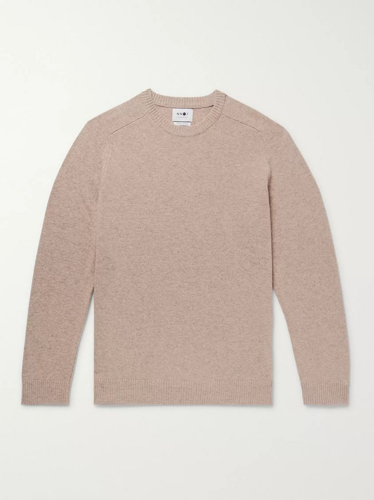 NN07 Edward Mélange Wool Sweater