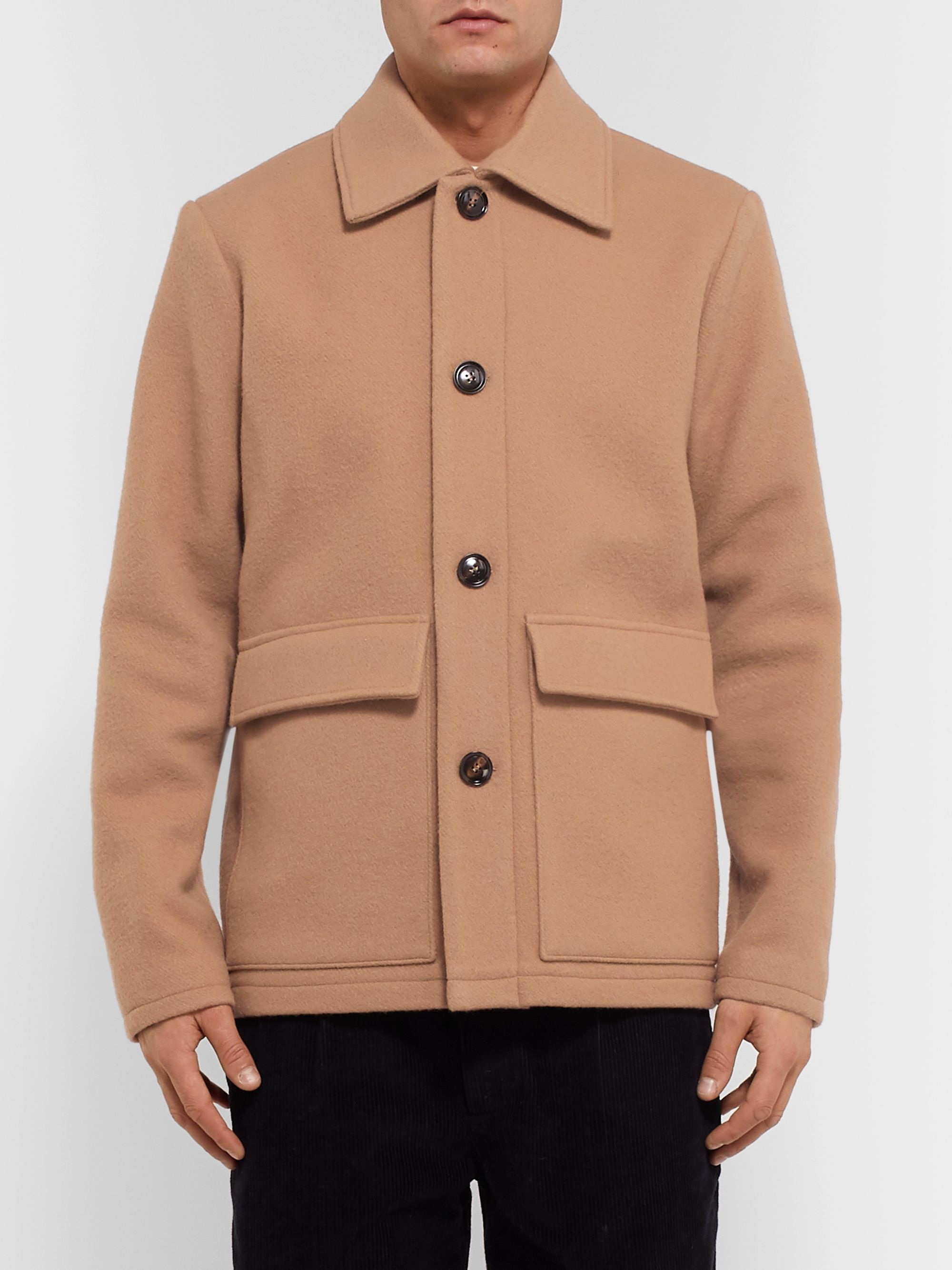 Séfr Keith Wool-Blend Coat