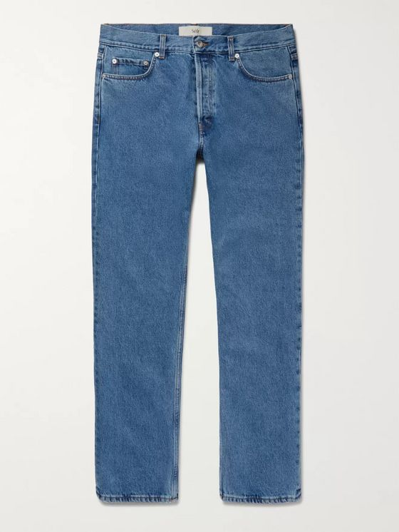 SÉFR Stonewashed Denim Jeans