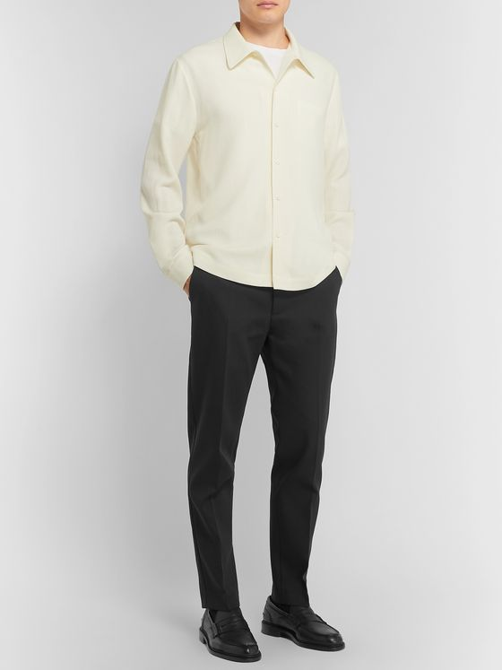 Séfr Harvey Tapered Cotton-Blend Trousers