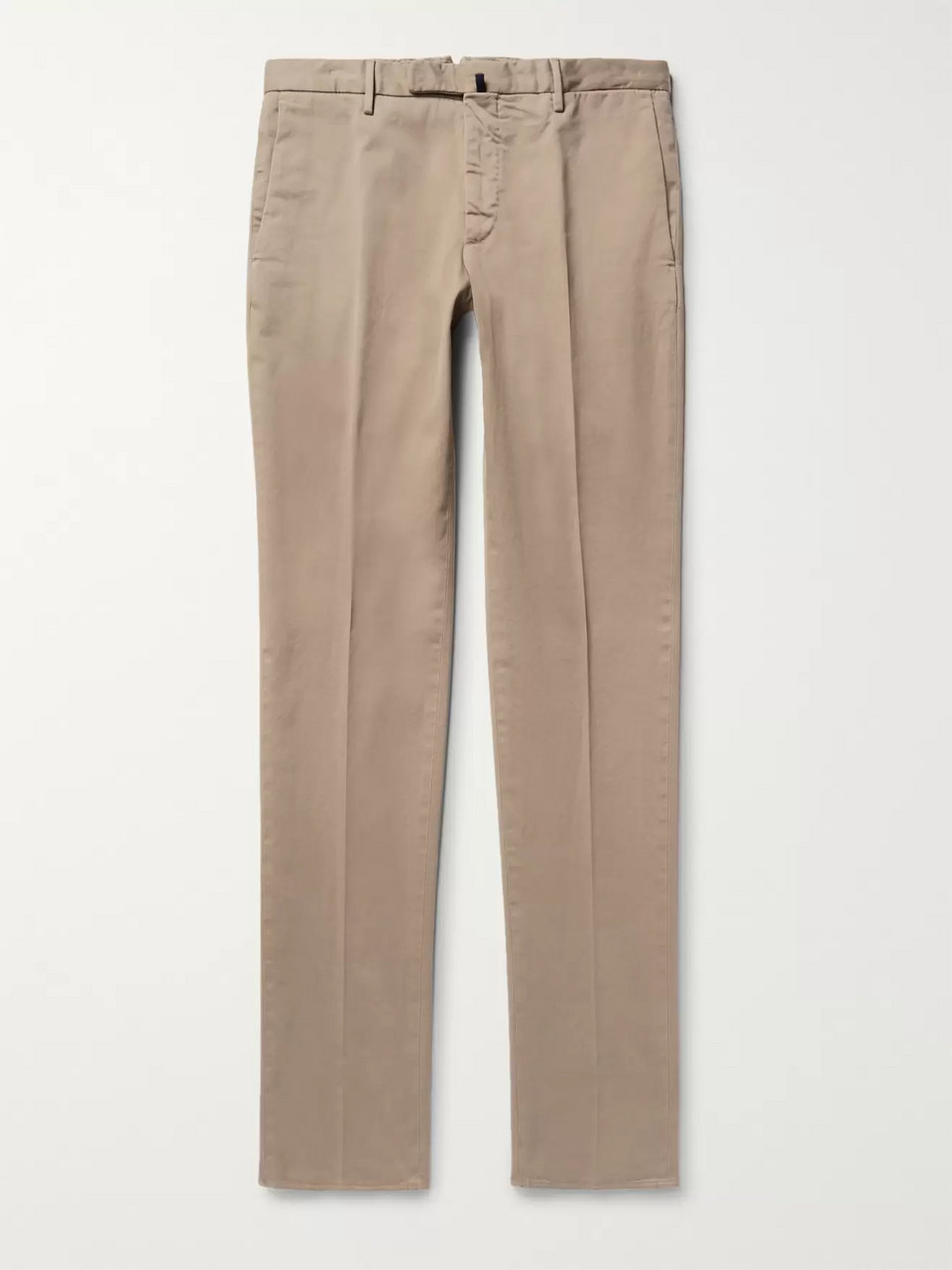 Incotex Four Season Slim-Fit Cotton-Blend Chinos