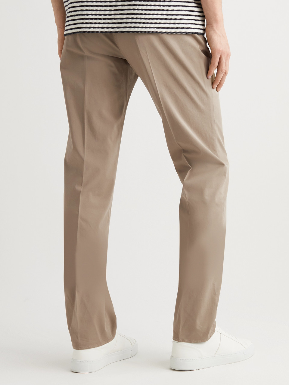 Incotex Four Season Relaxed-Fit Cotton-Blend Chinos