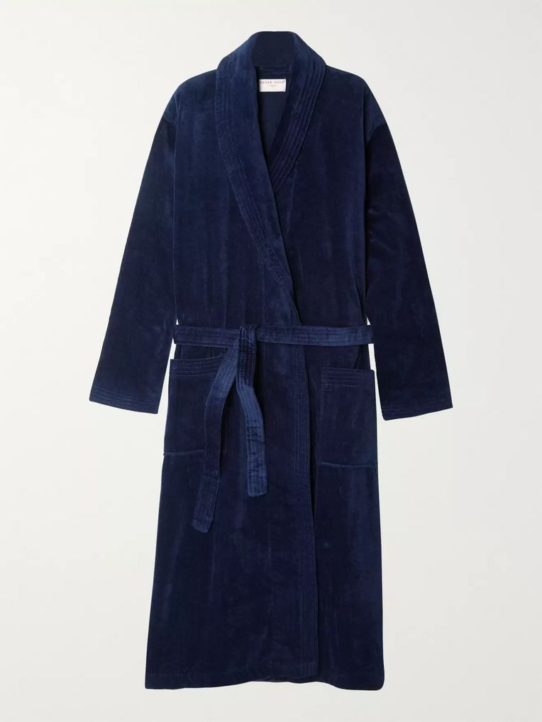 Derek Rose Cotton-Terry Robe