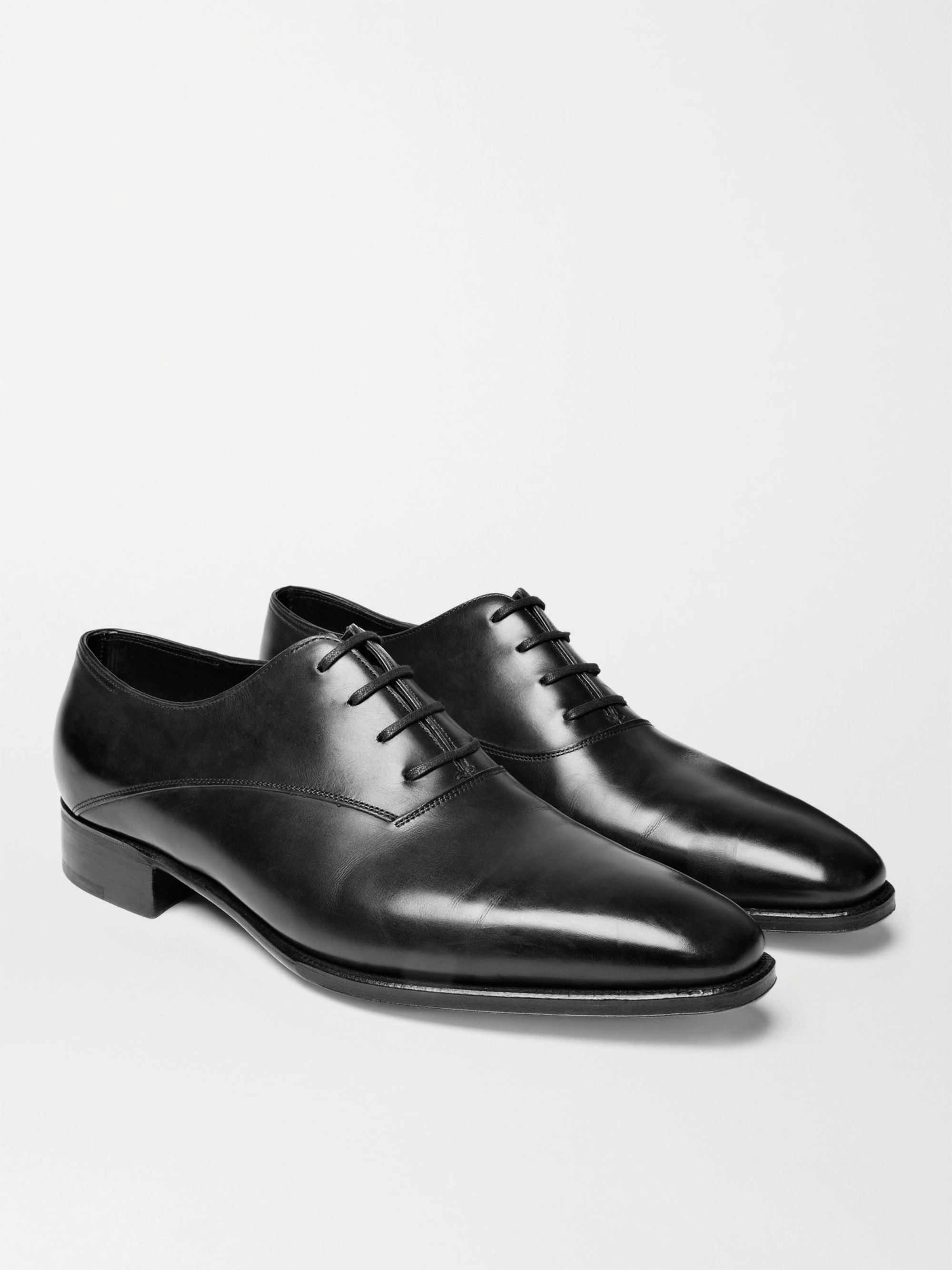 John Lobb Prestige Becketts Leather Oxford Shoes