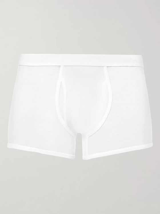 Sunspel Superfine Cotton Boxer Briefs