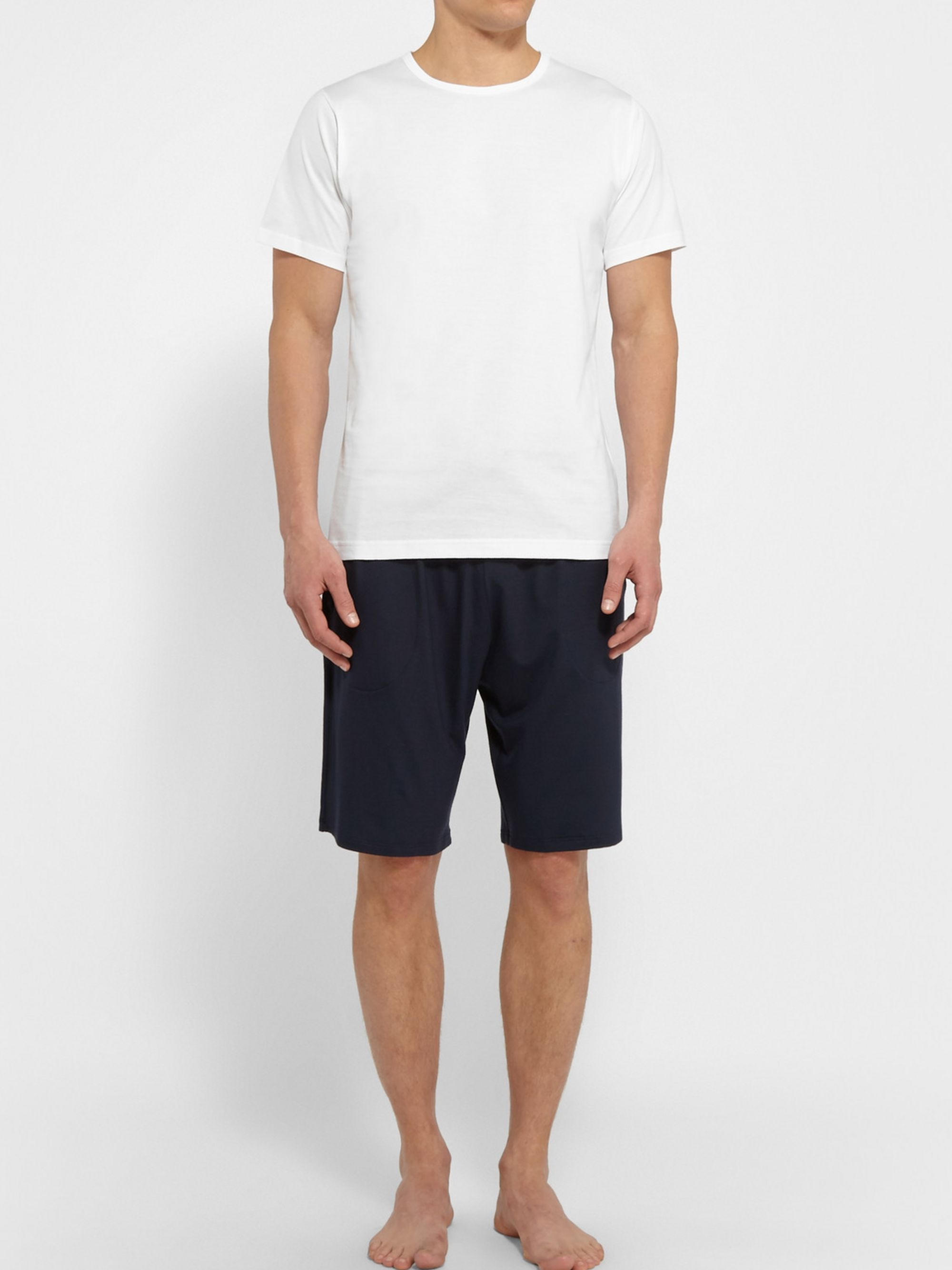 Sunspel Superfine Cotton Underwear T-Shirt