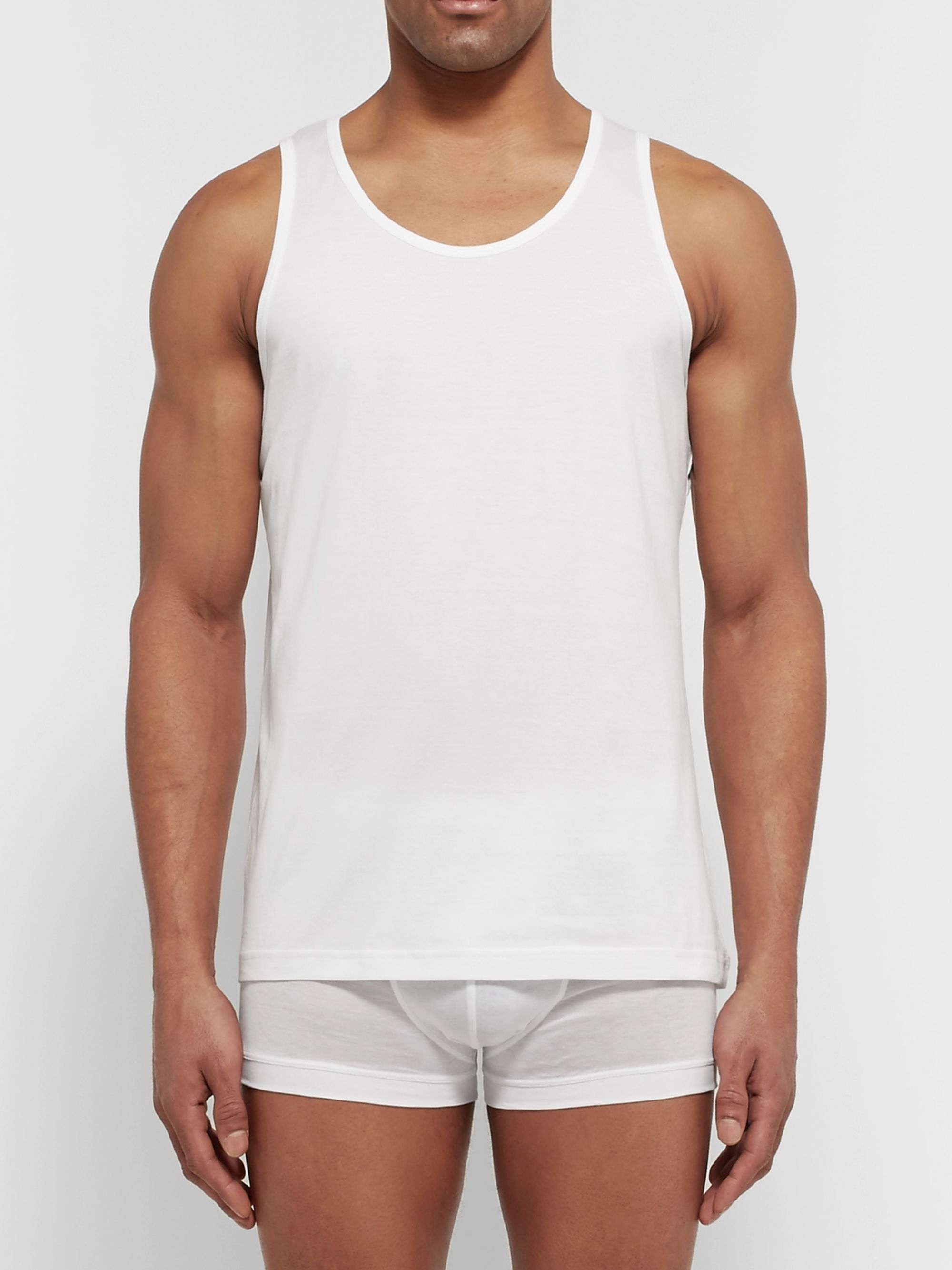 SUNSPEL Cotton Underwear Tank Top