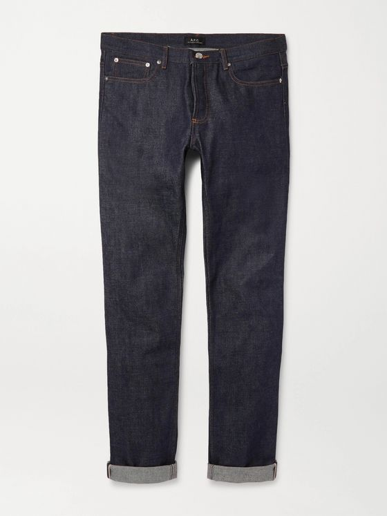 A.P.C. Petit New Standard Skinny-Fit Dry Selvedge Denim Jeans