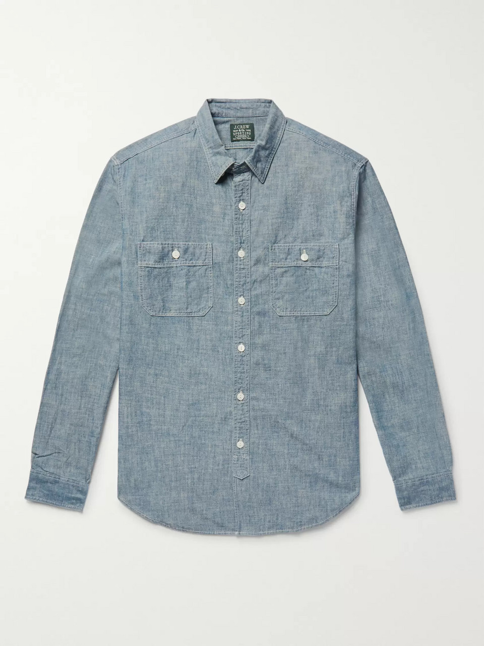 J.Crew Cotton-Chambray Shirt