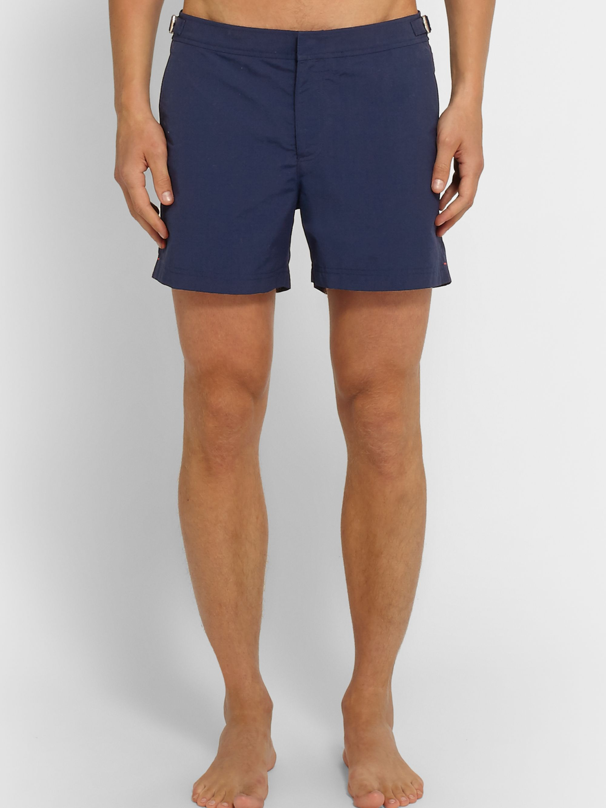 Orlebar Brown Setter Slim-Fit Short-Length Striped Swim Shorts