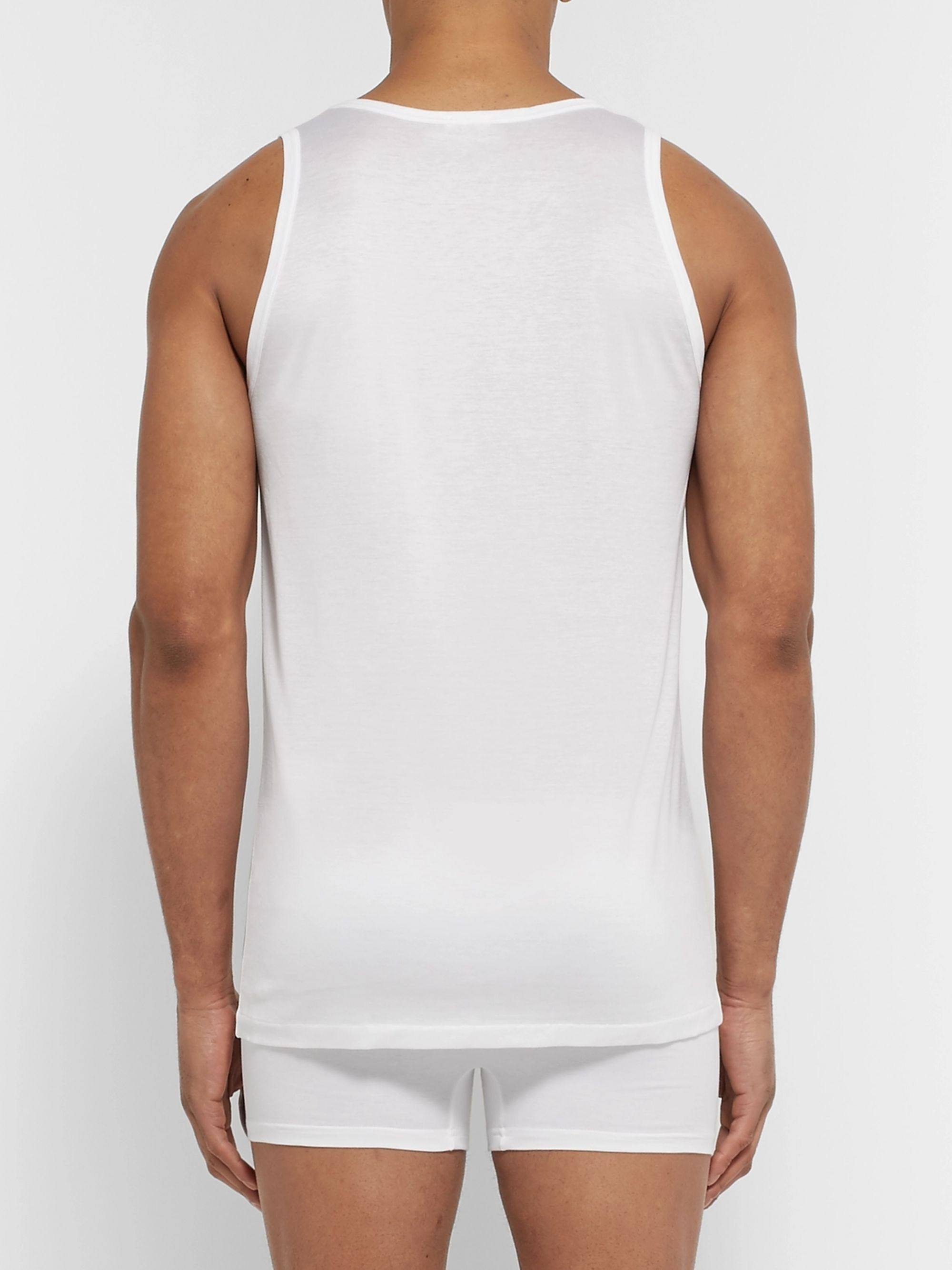 Zimmerli Royal Classic Cotton Tank Top