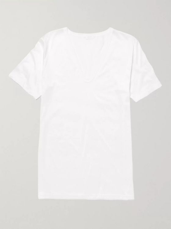 ZIMMERLI Royal Classic Cotton T-Shirt