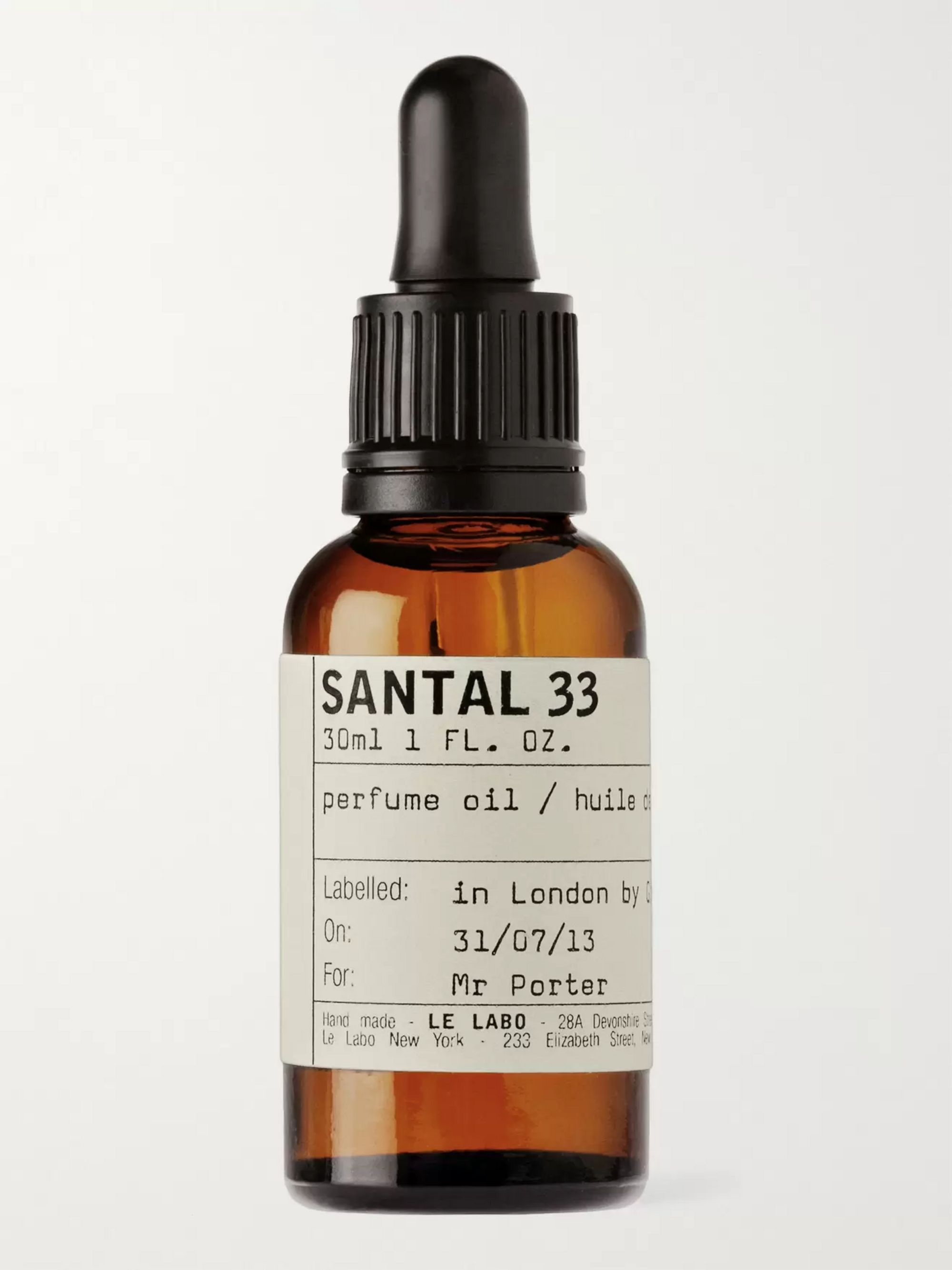 Le Labo Santal 33 Perfume Oil - Sandalwood & Cardamom, 30ml