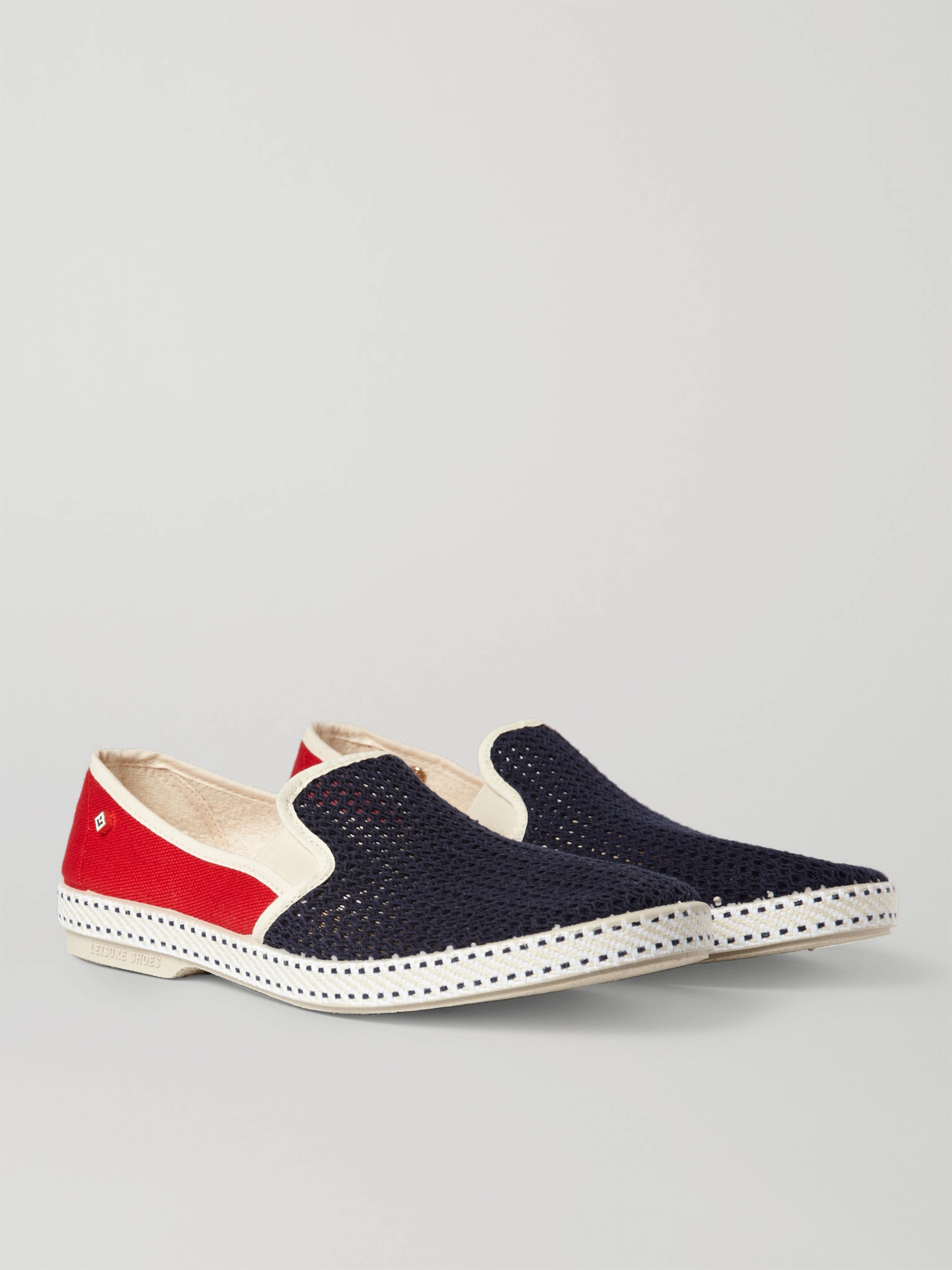 new product 88cdf a2a5c Cotton-Mesh and Canvas Espadrilles